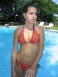 amateur photo Posing in bikini