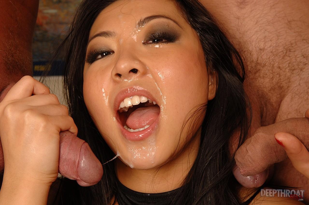 Asian Cumslut Porn Photo