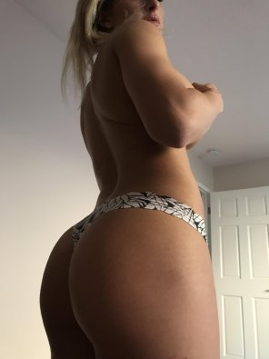 amateur photo White panties