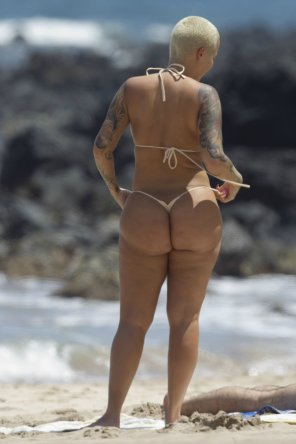 amateur photo Amber Rose...