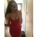 amateur photo Sexy Red Number