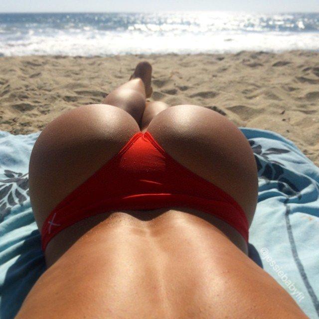 Beach Booty Porn Photo