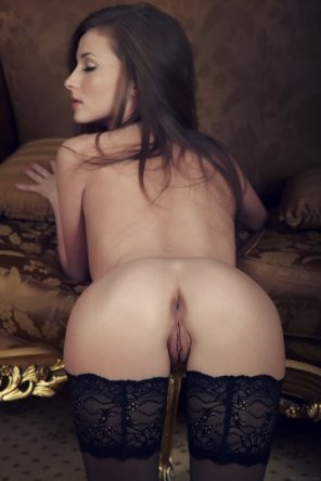 amateur photo Stockings...