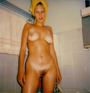 amateur photo Towel head, tan lines and bush