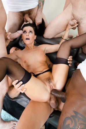 "amateur photo India Summer in ""Lewood Gangbang: Battle Of The MILFs 2"""