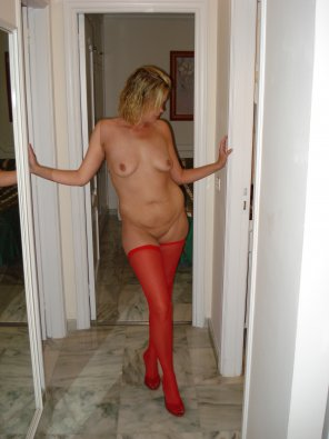 amateur photo Amateur wife in stockings and heels. Which pose do you prefer?