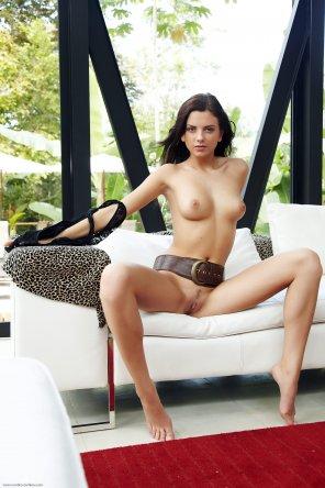 amateur photo Big belt