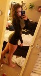 amateur photo Minecraft fan in a tight dress