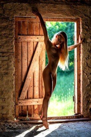 amateur photo Barn doors