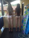 amateur photo Two girls down to their underwear