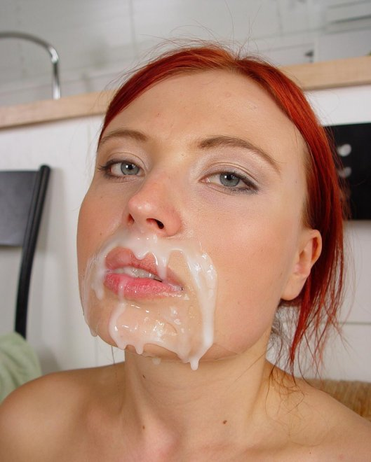 Redhead cumslut Porn Photo