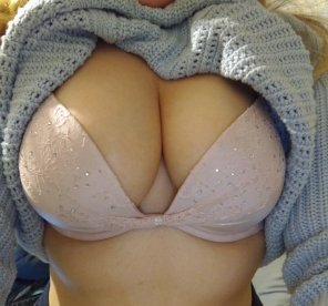 amateur photo Like my bra?