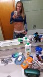 amateur photo Girl With Amazing Abs