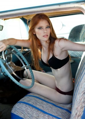 amateur photo She's the driver