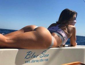 amateur photo The Blue Sea