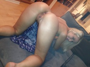 amateur photo Waiting on the couch