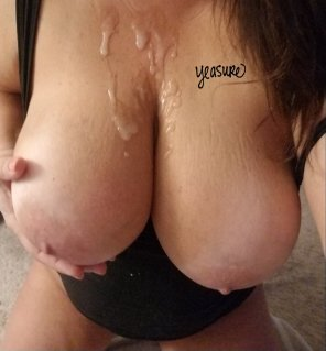 amateur photo [Image] Cum covered always feels good 😍
