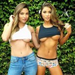 amateur photo Johana Gomez and Arianny Celeste