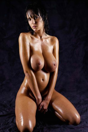 amateur photo Oiled and Beautiful