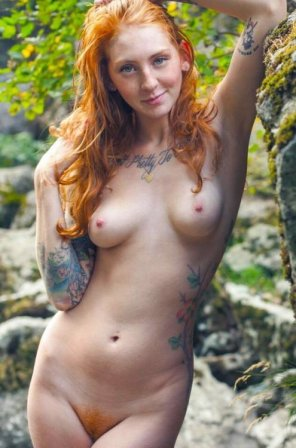 amateur photo Tatted girl...
