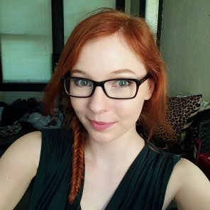 amateur photo Sexy redhead selfie.