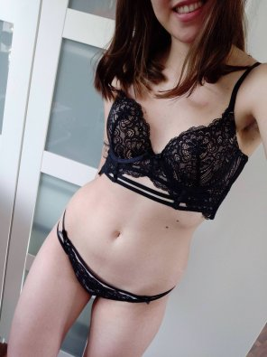 amateur photo Thought you guys might appreciate my new lingerie :)