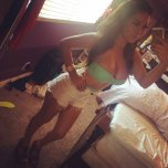amateur photo Green Bikini