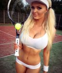 amateur photo Perfect outfit for tennis