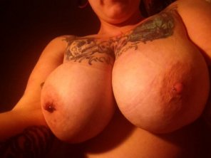amateur photo Fat tits...