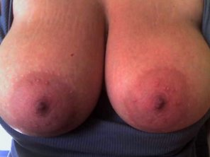 amateur photo Huge areolas