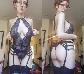 amateur photo Do you like my new lingerie? :)