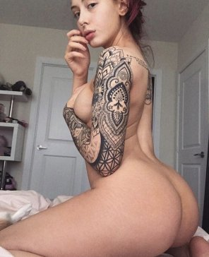 amateur photo Nice tattoo