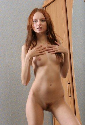 amateur photo Petite redhead