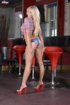 amateur photo Waitress with a tight little caboose