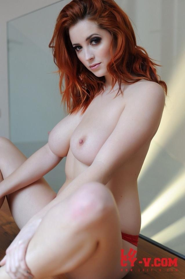 Nude redhead collett lucy tits