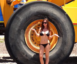amateur photo Great Big Tires