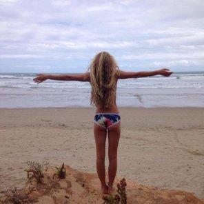 amateur photo Bikini bottom babe