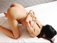 amateur photo Tied up