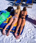 amateur photo two babes at the beach