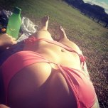 amateur photo Pink tanning