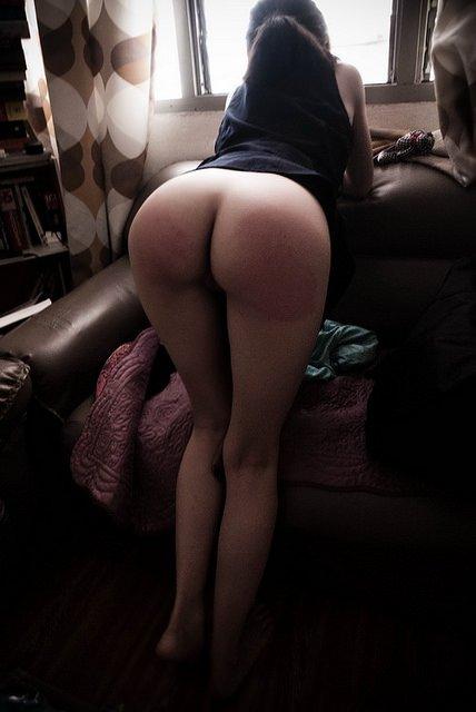 Spanked Porn Photo