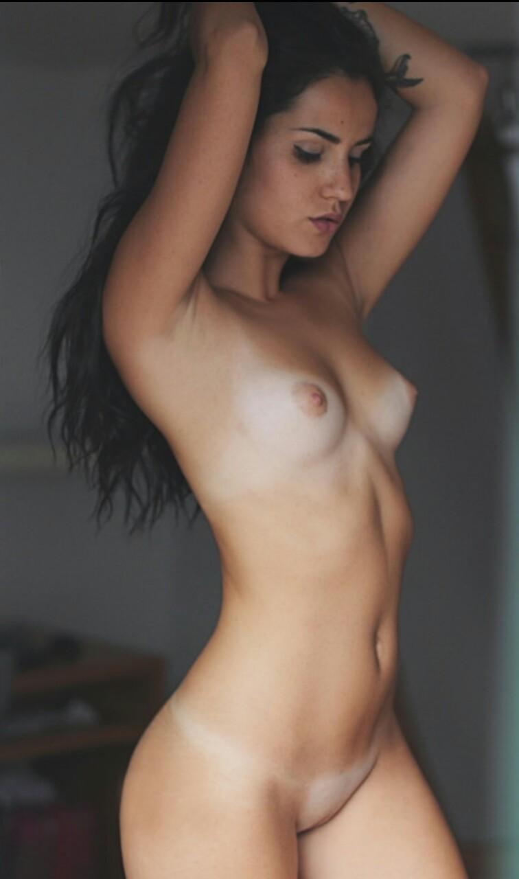 Ebony wet pussy in panties