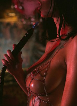 amateur photo Hooka hottie