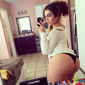 amateur photo PAWG selfie