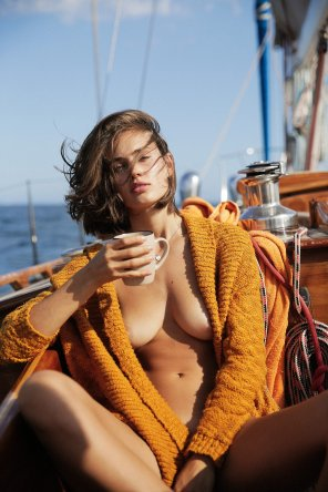 amateur photo Johanne Landbo by Cameron Hammond for Playboy Spain