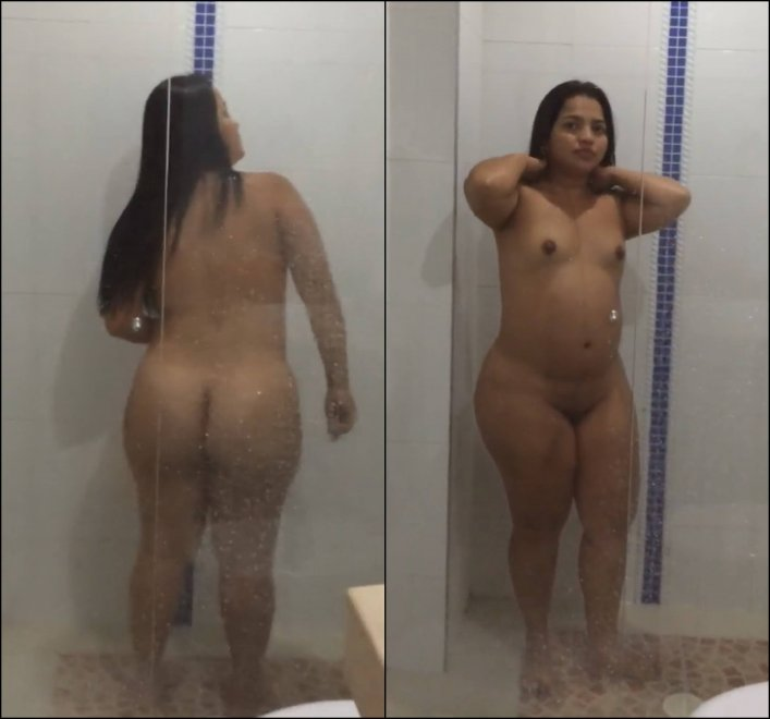 Latina front and back amateur Porn Photo