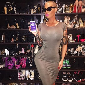 amateur photo Amber Rose