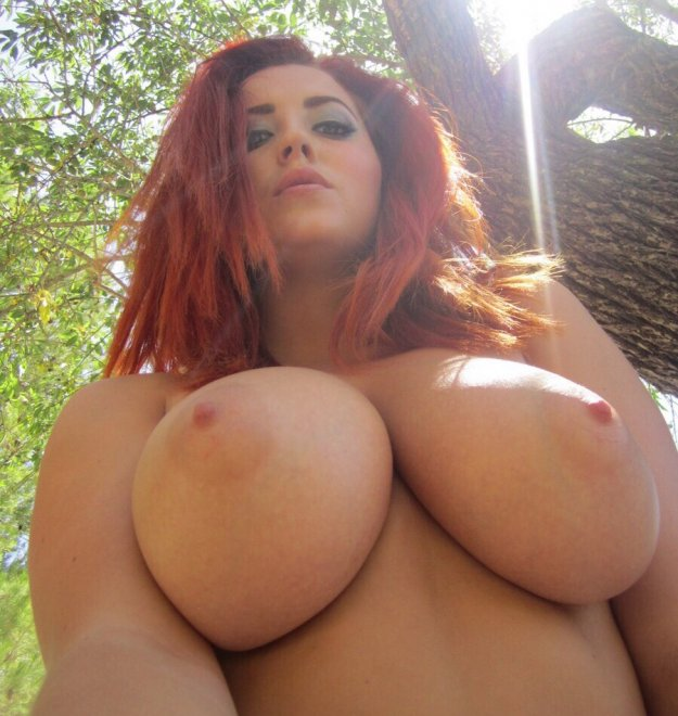 Naked in the woods Porn Photo