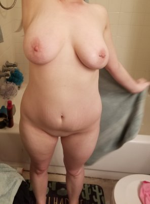amateur photo Freshly showered wife for you to use how you want