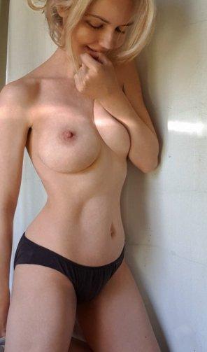 amateur photo Plain black panties